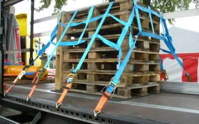 Zabezpieczenia przewożonych ładunków w transporcie samochodowym